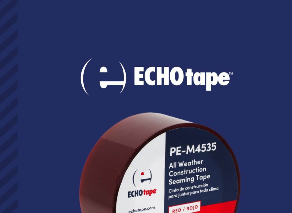 ECHOtape package design and branding cover
