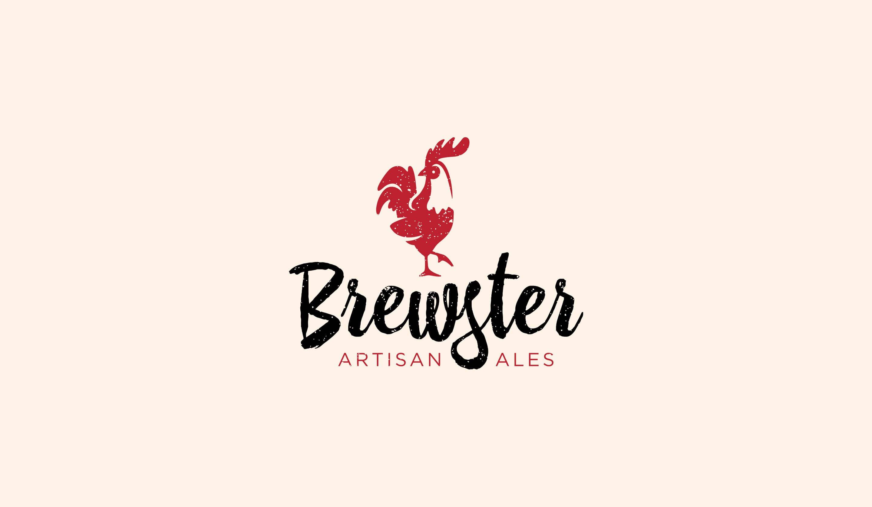brewster brewery logo design