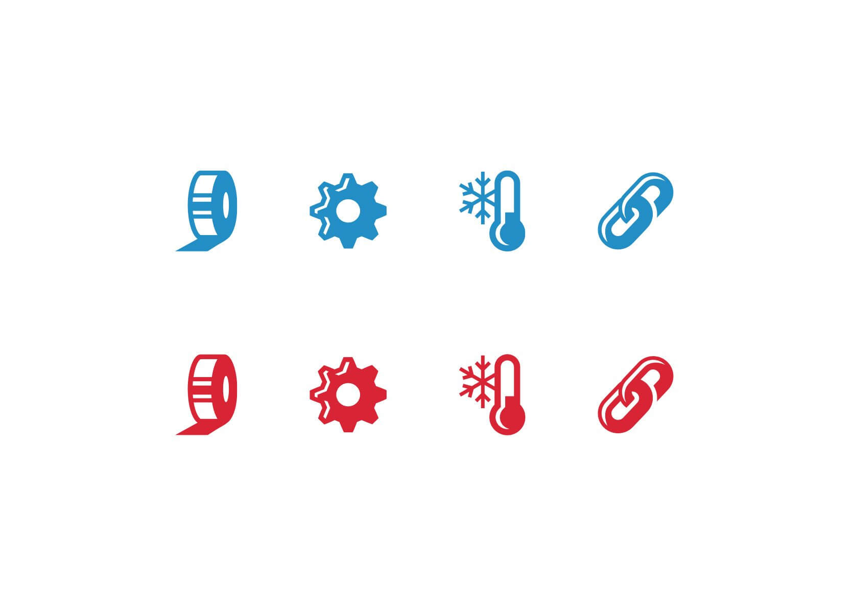 echotape icon set design