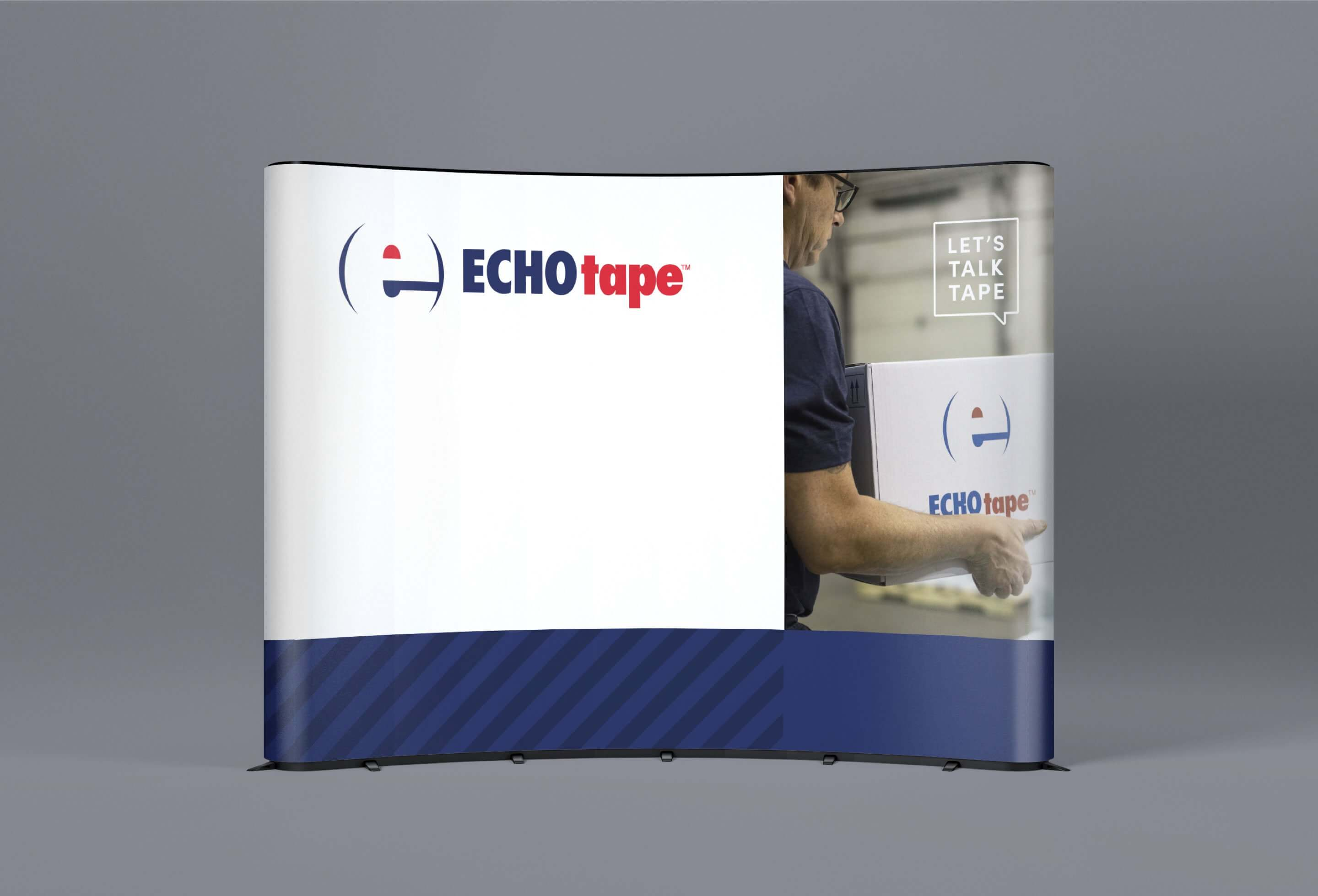 echotape tradeshow booth display