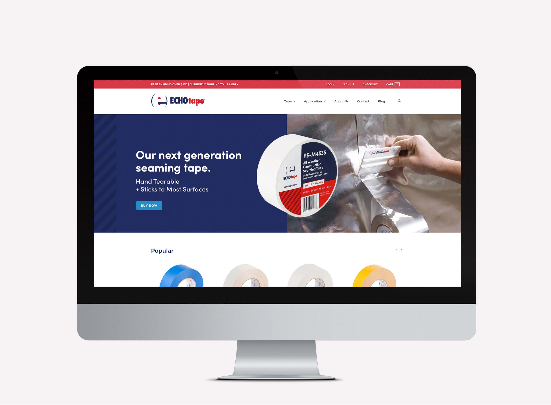 echotape responsive website design